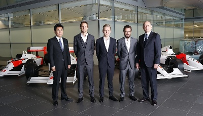 MCLAREN-HONDA PREPARES FOR 2015: LAYING THE FOUNDATIONS FOR FUTURE DOMINATION