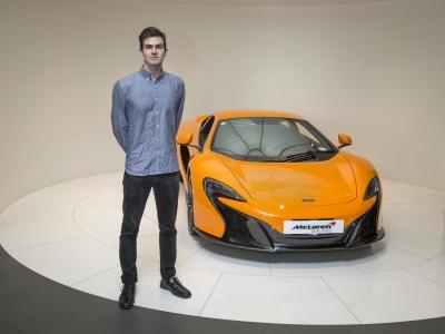 McLAREN AUTOMOTIVE ANNOUNCES ITS FIRST INTERNATIONAL INTERNSHIP
