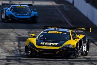Victory For Parente Headlines Double Podium For McLaren 650S GT3 At Long Beach