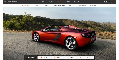 Mclaren Automotive Uncovers New Digital Home Providing The Most Detailed Insight Into The Brand Yet