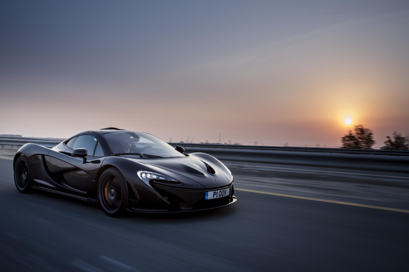 PRODUCTION OF THE McLAREN P1™ COMES TO AN END