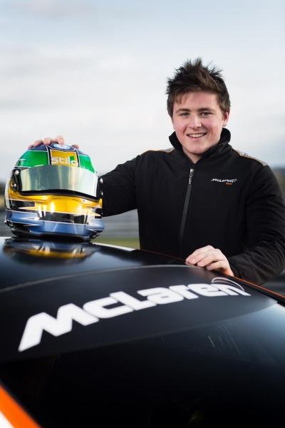 McLAREN FACTORY DRIVER ROB BELL TEAMS UP WITH YOUNG DRIVER ANDREW WATSON TO TAKE ON SPA