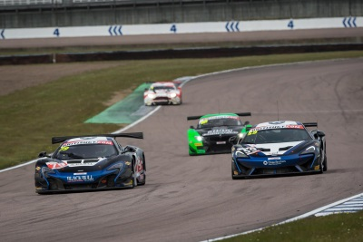 DOUBLE TOP TEN FINISHES FOR McLAREN AT ROCKINGHAM