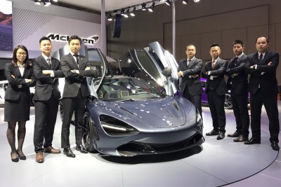 McLaren Shanghai Named Mclaren Automotive Chinese Retailer Of The Year 2016