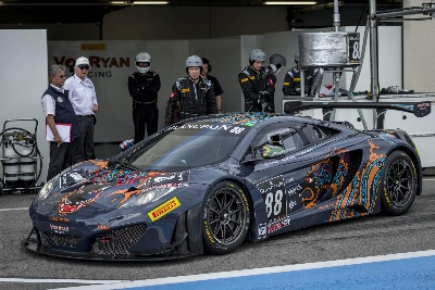 McLAREN AUTOMOTIVE CHIEF TEST DRIVER REJOINS VON RYAN RACING FOR TOTAL 24 HOURS OF SPA