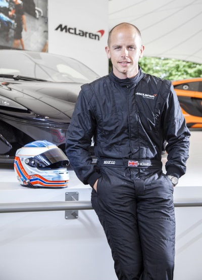 Mclaren Test Driver Howell Set For British GT Drive With 570S GT4