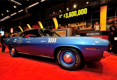 ... Sale for the Crown Jewel of Muscle Cars makes History in Emerald City