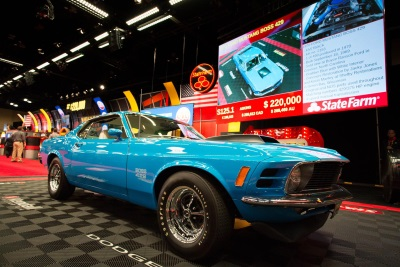 MECUM THREE-DAY SALE TOTAL CLIMBS TO $10.5 MILLION IN SWEET HOME CHICAGO