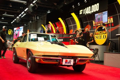 HIGH ENERGY AND HUGE CROWDS AT MECUM'S SECOND-ANNUAL HARRISBURG AUCTION