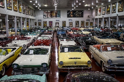 MECUM ROGERS' CLASSIC CAR MUSEUM AUCTION RESULTS