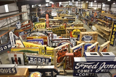 NOSTALGIC SIGN COLLECTION TO BE OFFERED FOR SALE BY MECUM AUCTIONS