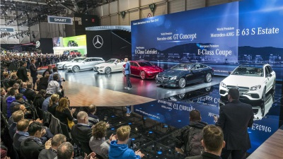 Mercedes-Benz Cars At The 2017 Geneva International Motor Show: A Big Stage For Sporty Elegance