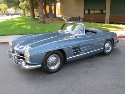 Immaculate 300SL Roadster at Russo and Steele Monterey