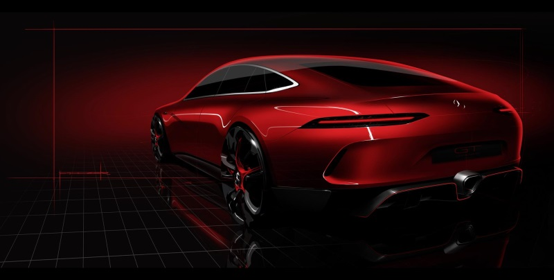 The Mercedes-AMG GT Concept