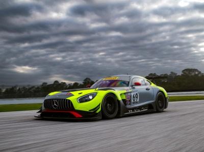 Mercedes-AMG Motorsport Customer Racing Teams Ready For 2017 Season-Opening Pirelli World Challenge Race