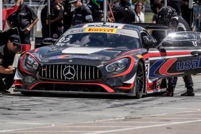 Mercedes-AMG Motorsport Customer Racing Team Black Swan Racing Podiums Sunday In Utah