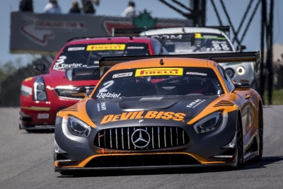 Mercedes-AMG Motorsport Customer Racing Teams Set To Complete Back-To-Back Schedule Of Pirelli World Challenge Races