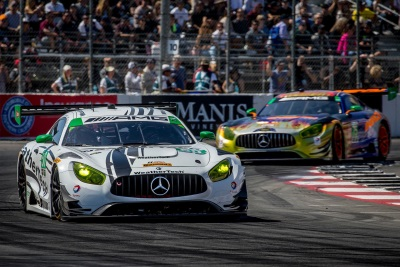 Mercedes-AMG Motorsport Customer Racing Teams Finish One-Two In Grand Prix Of Long Beach