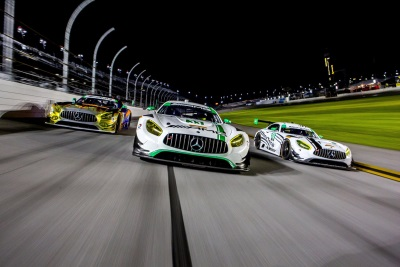 Three Mercedes-AMG GT3 Teams Competing In The GTD Class In The Northeast Grand Prix