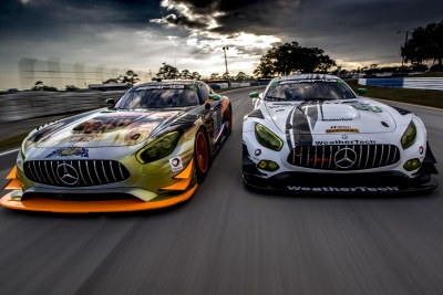 Mercedes-AMG Motorsport Customer Racing Teams Compete At Grand Prix Of Long Beach