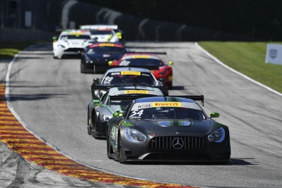 Black Swan Racing Leads Mercedes-AMG Customer Racing Teams With Pirelli World Challenge Double Podiums At Road America