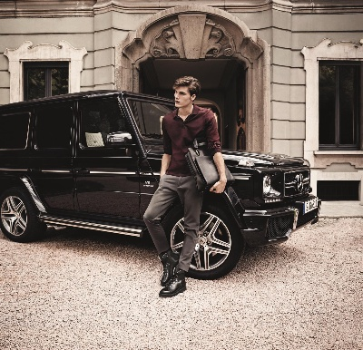 Cooperation between Mercedes-AMG and Santoni: New G 63 collection under the label 'Santoni for AMG'