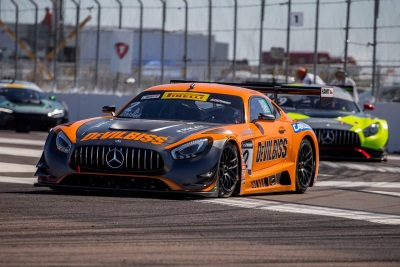 Mercedes-AMG Motorsport Customer Racing Teams Qualify For Pirelli World Challenge Race At St. Petersburg