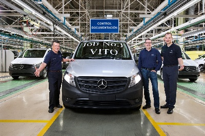 Mercedes-Benz Vans: Production launch of the new Vito