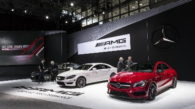 Mercedes-Benz at the 2014 New York International Auto Show: A new star over the Hudson River - World Premiere of the new S 63 AMG Coupé