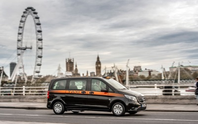 Vito Taxi Outranks The Competition In London