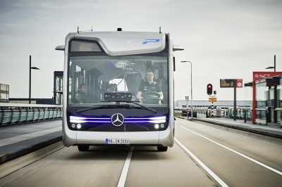World premiere: Mercedes-Benz Future Bus with CityPilot – a milestone on the way to the autonomous city bus