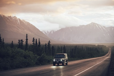 'Never Stop Exploring': Mercedes-Benz G-Class Outdoor Experience: On A Spectacular Content Creation Tour Of Canada And Alaska With Mercedes-Benz And The North Face