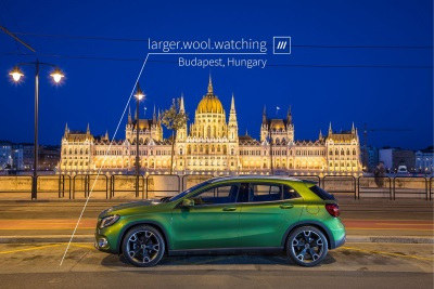 Mercedes-Benz Introduces The World's First In-Car 3 Word Address Voice Navigation System