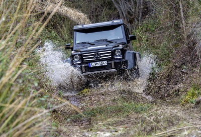 Unique Special Model Still Available Until End Of October: Production Of Limited G 500 4X4² Comes To An End
