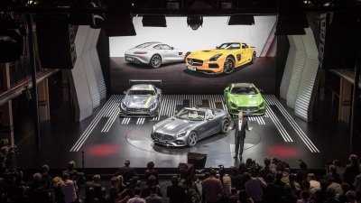 MERCEDES-BENZ MEDIA NIGHT IN PARIS – WORLD PREMIERE OF THE AMG GT ROADSTER