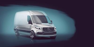 Mercedes-Benz Vans Reveals First Details Of The New Sprinter