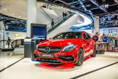Latest Mercedes-Benz Pop-Up Shop Opens In Selfridges At The Bullring