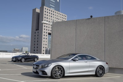 The New S-Class Coupé And The New S-Class Cabriolet