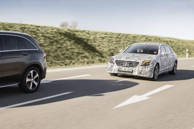 Driving assistance systems: the next step: The new S-Class: Intelligent Drive Next Level