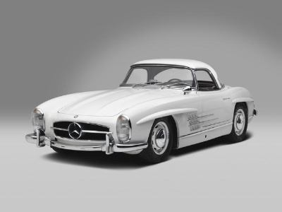 Roadsters and Gullwings at the Mercedes-Benz Sale