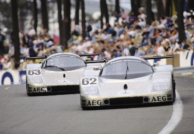 Mercedes-Benz Silver Arrows Celebrate Silver Anniversary Le Mans Victory At 2014 Amelia Island Concours D'elegance