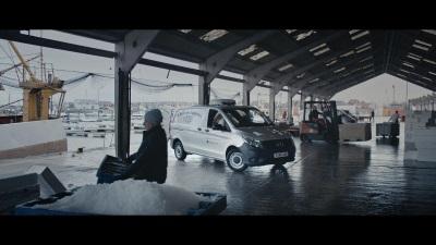 Mercedes-Benz Vans Champions Van Drivers In First Ever Brand Tv Advert