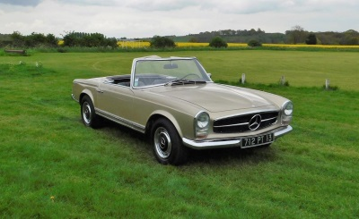 Mercedes-Benz 280SL Pagoda For Sale By Classic Car Auctions Comes With An Aura Of Riviera Glamour
