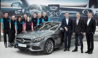 New dream car made in Bremen: Mercedes-Benz starts production of the C-Class Cabriolet