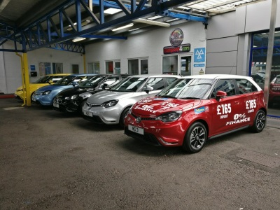 Leading MG Dealership Wins Global Automotive Award
