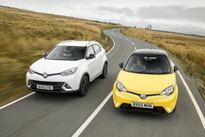 MG MOTOR STARTS THE NEW YEAR IN STYLE