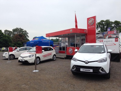 MG FORGES AHEAD WITH TAKING THEIR CARS TO THE PEOPLE