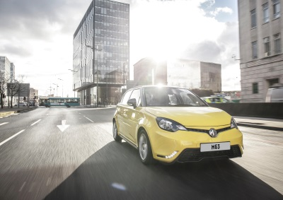 MG Motor UK Smashes 10,000 MG3 Milestone