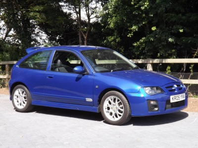 Mg ZR With Just 759 Miles On The Clock For Auction With CCA
