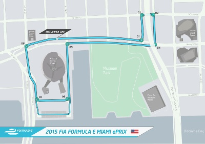 FORMULA E UNVEILS CIRCUIT LAYOUT FOR MIAMI EPRIX